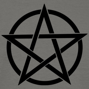 Pentagram gram~~POS=HEADCOMP - T-skjorte for menn