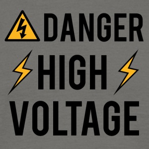 Électricien: Danger! High Voltage! - T-shirt Homme