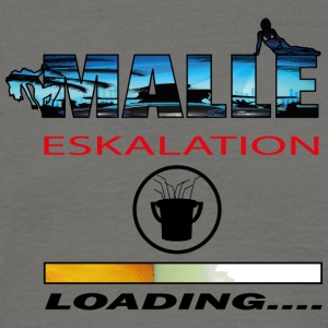 Malle eskalation 2017 loading - Männer T-Shirt