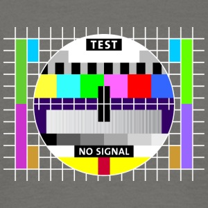 Testbild Display screen test card signal Big Bang - Männer T-Shirt