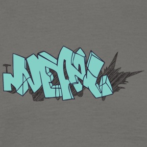 Cool street art graffiti - Herre-T-shirt