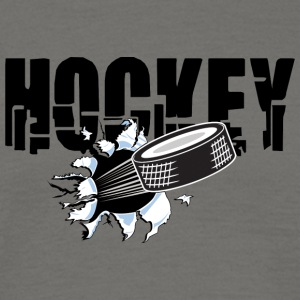 hockey puck - Herre-T-shirt