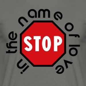 stop_in_the_name_of_love - Herre-T-shirt