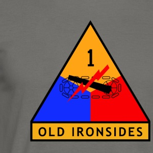 1st_Armored_Division - Mannen T-shirt