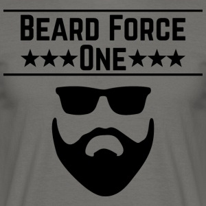 Beard Force One - Männer T-Shirt