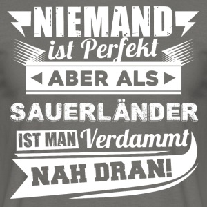 Nobody's perfect - Sauerland T-Shirt - Men's T-Shirt
