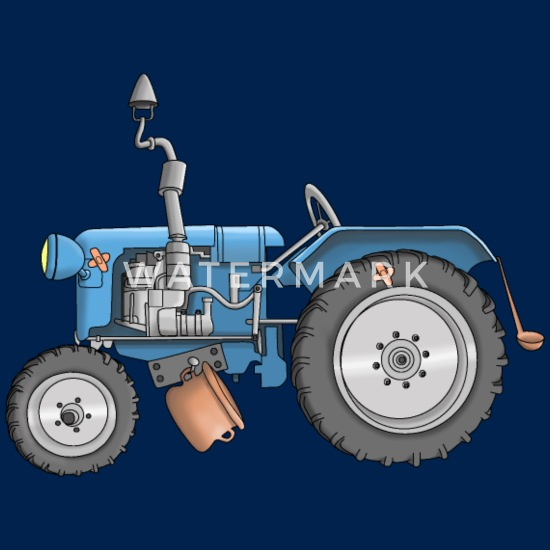 Tracteur Cool Agriculture Dessin Anime T Shirt Homme Spreadshirt