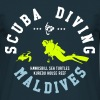 MALDIVES SCUBA DIVING - Men's T-Shirt