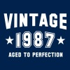 VINTAGE 1987 - Birthday - Aged To Perfection - Männer T-Shirt