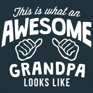 this is what an awesome grandpa looks li