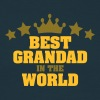 best grandad in the world stars - Men's T-Shirt