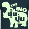 THE BIG PUMPUI / Fat in Thai Language Script - Männer T-Shirt