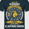.....I Am A Capricorn - Men's T-Shirt