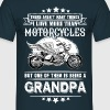 Motorcycles Grandpa - Men's T-Shirt