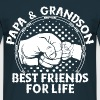 Papa & Grandson Best Friends For Life - Men's T-Shirt