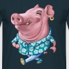 Hawaiian pig - Men's T-Shirt