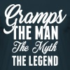 Gramps The Man The Myth The Legend - Men's T-Shirt