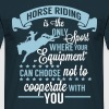Horse riding - sport - Mannen T-shirt