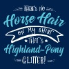 Glitter Highland-Pony  - Men's T-Shirt