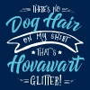 There is no Dog Hair this is Hovawart Glitter - Men's T-Shirt