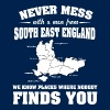 Countries South East England - Men's T-Shirt