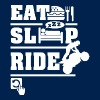 Eat Sleep Ride - Men's T-Shirt