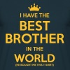 i have the best brother in the world - Koszulka męska