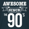 nineties 90's - Mannen T-shirt
