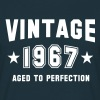VINTAGE 1967 - Birthday - Aged To Perfection - Camiseta hombre