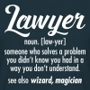 Lawyer - Definition - Men's T-Shirt