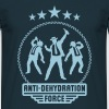 Anti-Dehydration Force (Bier Party Team) - Männer T-Shirt