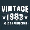 VINTAGE 1983 - Birthday - Aged To Perfection - Men's T-Shirt