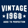 VINTAGE 1968 - Birthday - Aged To Perfection - Men's T-Shirt