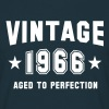 VINTAGE 1966 - Birthday - Aged To Perfection - Men's T-Shirt