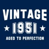VINTAGE 1951 - Birthday - Aged To Perfection - Men's T-Shirt