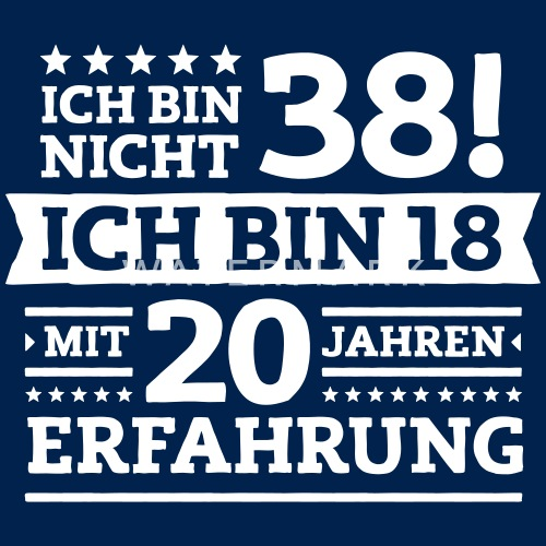 Geburtstag 38 Geburtstag