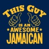 this guy is an awesome jamaican - Men's T-Shirt
