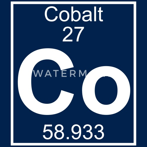Cobalt Co Element 27 By Elementaltable Spreadshirt