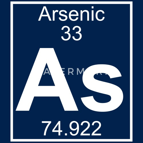 Periodic Table Element 33 As Arsenic Big Por Elementaltable
