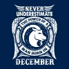 ...Power Of A Man Born In December, Capricorn Sign - Men's T-Shirt