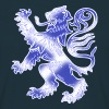 Scottish Lion Rampant and Saltire Flag - Men's T-Shirt