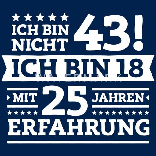 Zum 43. Geburtstag! Men's T Shirt | Spreadshirt