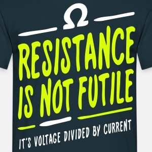 Resistance is not futile