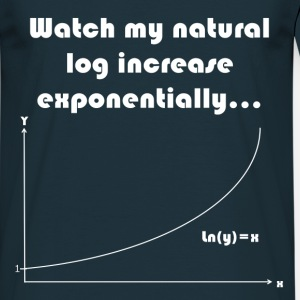 Maths Joke Expontential Log