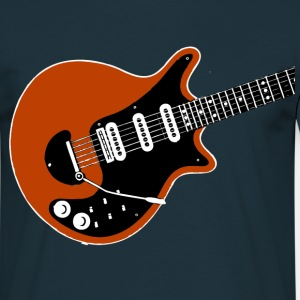 red guitar t-shirt