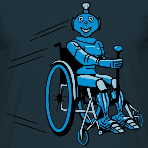 Robot cool humorous light wheelchair funny