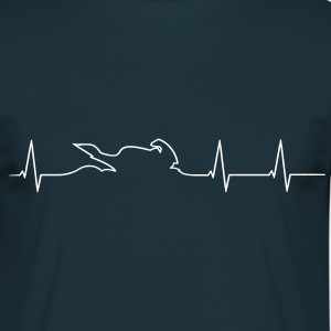 Motorcycle Biker heartbeat