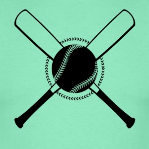 Baseball Crossed - Men's T-Shirt