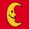 Smiley Moon - Lachender Mond - Männer T-Shirt