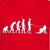 Evolution homme va walkies  - T-shirt Homme